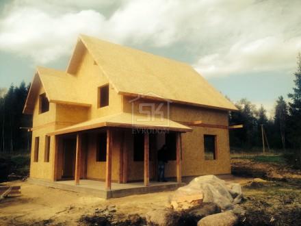 Дачный домик из сип панелей своими руками